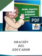 ORACIÓN DEL EDUCADOR!...