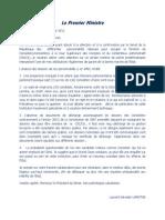 Laurent Lamothe Objecte le choix du Senat pour la Cour Superieure des Comptes