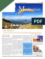 Bodhi Meditation LA Journal 2013 Vol 6