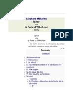 Igitur - Mallarmé.docx