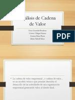 Análisis de Cadena de Valor