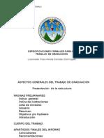 Nueva Presentacion de Taller 2013 Especificaciones Tesis