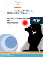 Social Filmmaking- Distance Learning Course Free! Apply Today
