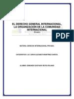 El Derecho General Internacional