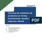 42 Técnicas de exhibición de productos en Ferias - Unidad 4 (pag58-73)