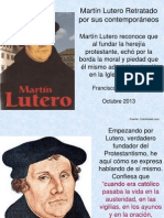 Martín Lutero retratado por sus contemporáneos.ppt