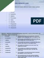 Concepto de Enunciado Caso y Declinacion FMM 2012 2013(Unidad 2 4)