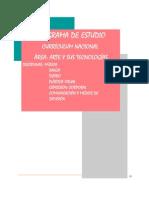 PROGRAMA DE ESTUDIOS AREA ARTE  Y SUS TECNOLOGÍAS-1er-c2