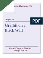 Learning Adobe Photoshop CS4 - Graffiti on a Brick Wall