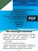 Clase 8va Microorganismos de Importancia Agroindustrial.
