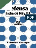 Defensa India de Rey 1 - 250 Partidas