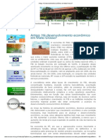 Artigo_ Há desenvolvimento econômico em Mato Grosso_