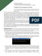 01pratica Javac Bemvindo 2010-Windows