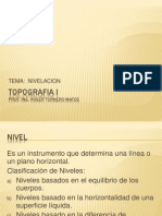 Clase 1 - Nivelacion