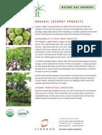 Ciranda Coconut Products