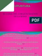 Acupuntura Canal de Corazon