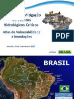 Atlas de Vulnerabilidade a Inundações