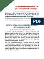 Les dessous de l'arrestation de Me. André MICHEL, la mort du feu Magistrat Jean Serge JOSEPH, l'emprisonnement d'Henold FLORESTAL