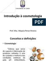 Introdução à cosmetologia II