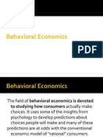 A brief about Behavioral Economics