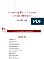 Microstrip Patch Antenna Design