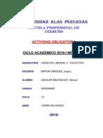 Monografia Derecho de Huelga