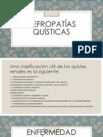 NEFROPATIAS QUISTICAS