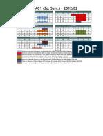 Calendario MBA01 2012-2