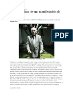 Historia Intima de Una Manifestacion de 400 Horas - Gabriel Garcia Marquez