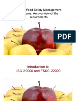 Introduction to ISO 22000 and FSSC 22000