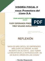 Revisoria Fiscal II Presenacion EMPRESA Riesgos