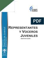 Los Representantes y Voceros Juveniles