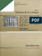Tema 02 - Historia de La Liturgia