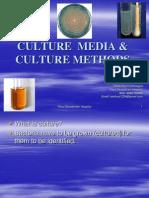 culture methods and culture media