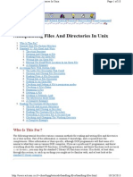 Manipulating Files And Directories In Unix.pdf