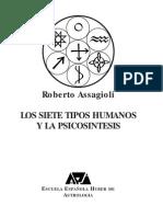 Tipos_Humanos Roberto Assagioli Psicosintesis