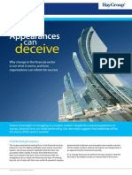 Appearances Can Deceive Exec Summary Lo-res