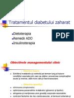 Tratamentul diabetului zaharat