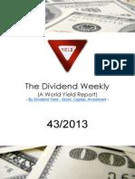 Dividend Weekly 43_2013