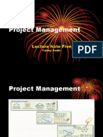 Operation Management - Project Management