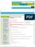 JobNeeti.com - Flipkart Placement Paper-Feb 2012.pdf