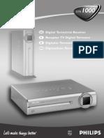 Instrucciones Philips DTR 1000