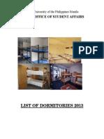 LIST OF DORMS 2013.pdf
