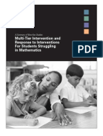 Summary of 9 Key Studies Multi Tier Intervention and Response to Interventions for Students Struggling in Mathematics.pdf