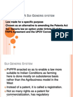Comparison of PPVFR and the Indian Patents Act