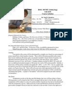 ichthyology syllabus