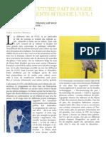 Theunis.aurelie.exercice2.Article.de.Presse