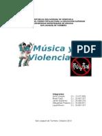 Musica y Violencia