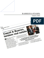 Massimo Caputi Prelios - Rassegna Real Estate Ottobre 2013