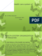 HEALTH SYSTEM ORGANIZATION OF PAKISTAN.pptx